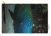 Blue Parrot Fish Carry-all Pouch