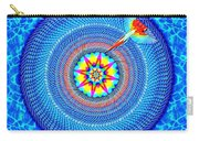 Blue Parrot Mandala Carry-all Pouch