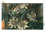 Blue Passion Flower For The  Temple Of Flora By Robert Thornton Carry-all Pouch