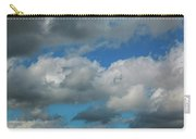 Blue Perfect Sky Sea Of Clouds From High Altitude Space Carry-all Pouch