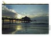 Blue Pier 60 Sunset Carry-all Pouch