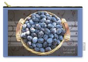 Blue Plums Carry-all Pouch