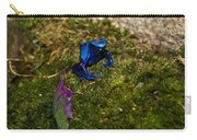 Blue Poison Arrow Frog Carry-all Pouch