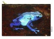 Blue Poison Dart Frog - Dendrobates Azureus Carry-all Pouch