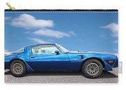 Blue Pontiac Trans Am 1978 Carry-all Pouch