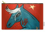Blue Pony  -001 Carry-all Pouch