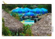 Blue Pool Umbrellas Carry-all Pouch