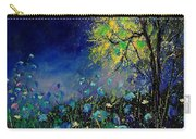 Blue Poppies And Diasies 67 Carry-all Pouch