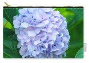 Blue Purple Hydrandea Floral Art Botanical Prints Canvas Carry-all Pouch