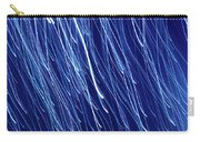 Blue Rain Abstract Carry-all Pouch