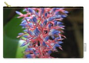 Blue Red Plant Carry-all Pouch