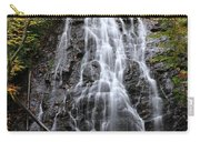 Blue Ridge Parkway Crabtree Falls In Autumn Carry-all Pouch