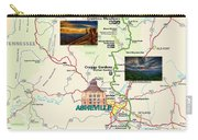 Blue Ridge Parkway In North Carolina Carry-all Pouch