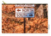 Blue Ridge Parkway Sign Carry-all Pouch