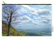 Blue Ridge Parkway Views - Rock Castle Gorge Carry-all Pouch by Kerri Farley
