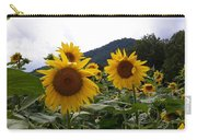 Blue Ridge Sunflowers  Carry-all Pouch