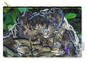 Blue Rimmed Fungus Carry-all Pouch