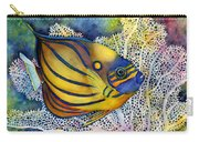 Blue Ring Angelfish Carry-all Pouch