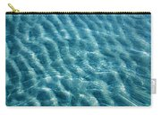 Blue Ripples Carry-all Pouch
