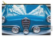 Blue Romeo Carry-all Pouch