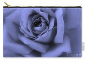 Blue Rose Abstract Carry-all Pouch