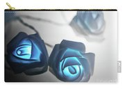 Blue Roses Shine Carry-all Pouch