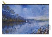 Blue Sail, Watercolor Painting Carry-all Pouch