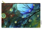Blue Sapphire 1 By Madart Carry-all Pouch