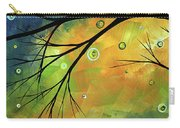 Blue Sapphire 2 By Madart Carry-all Pouch