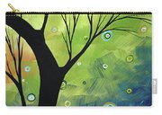 Blue Sapphire 3 By Madart Carry-all Pouch