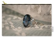 Blue Sapphire Carry-all Pouch
