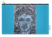 Blue Self Portrait Carry-all Pouch