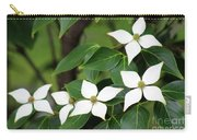 Blue Shadow Dogwood Flowers Carry-all Pouch