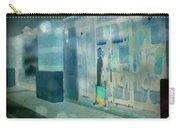 Blue Shopper Carry-all Pouch