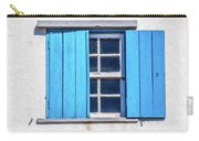 Blue Shutters Of Peniche Carry-all Pouch
