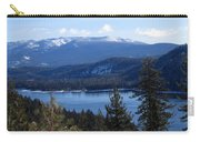 Blue Sierra Lake Carry-all Pouch