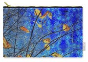 Blue Skies And Last Leaves Of Fall Carry-all Pouch
