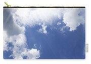 Blue Sky And Cloud Carry-all Pouch by Setsiri Silapasuwanchai