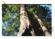 Blue Sky Big Redwood Trees Forest Art Prints Baslee Troutman Carry-all Pouch