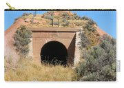 Blue Sky Black Tunnel Carry-all Pouch