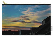Blue Sky Colorful Sunset Carry-all Pouch