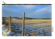 Blue Sky Fence Line Carry-all Pouch