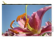Blue Sky Florals Art Pink Calla Lily Blooming Baslee Troutman Carry-all Pouch