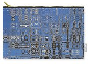 Blue Sky Quilt Carry-all Pouch