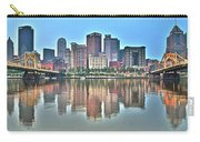 Blue Sky Reflecting Water Carry-all Pouch
