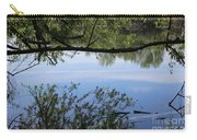 Blue Sky Reflection Carry-all Pouch