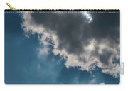 Blue Sky Solar Eclipse Carry-all Pouch