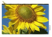 Blue Sky Sunflower Day Carry-all Pouch