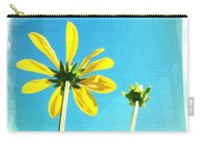 Blue Sky Sunny Daisy Carry-all Pouch