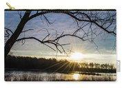 Blue Sky Sunrise On The Marsh Carry-all Pouch